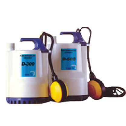 Bombas submersíveis Drainer D300 e D500